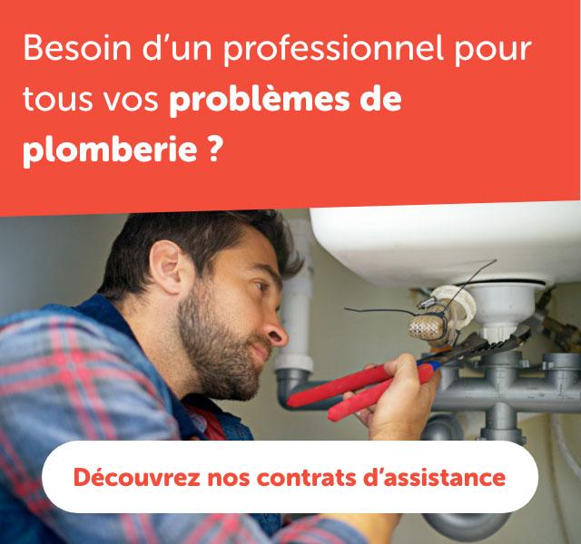 Contrat assistance plomberie